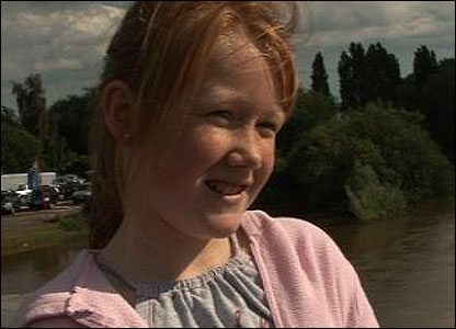 "The floods have come at the same time as the summer holidays for lots of kids. Hannah, 12, said: ""It's boring - we can't go out because it's either raining or flooded."""