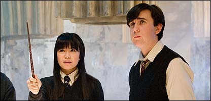 Katie Leung and Matthew Lewis