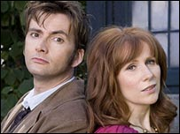 David Tenant and Catherine Tate