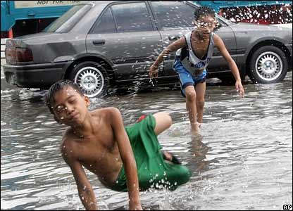 Floods in Manila