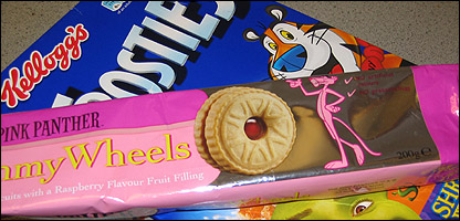 Kellogg's Frosties and The Pink Panther Jammy Wheels