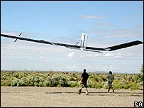 Zephyr High Altitude Long Endurance solar plane