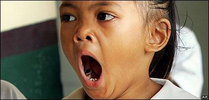 CBBC Newsround | Sci/Tech | Yawn copycats 'are caring people'