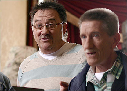 Paul (left) and Barry Chuckle