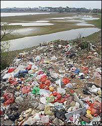 中國水資源污染