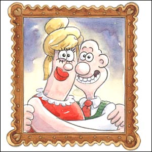Wallace and Piella - Aardman Animations 2007
