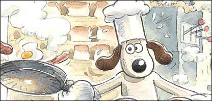 Gromit from Wallace and Gromit