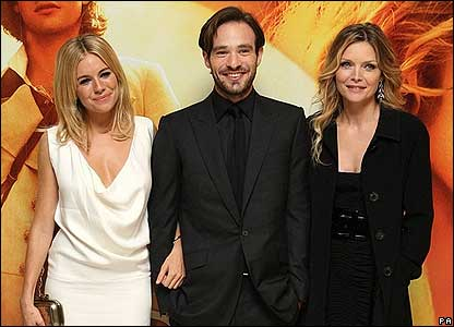 Sienna Miller, Charlie Cox and Michelle Pfeiffer