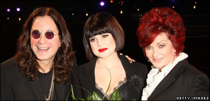 Ozzy, Kelly and Sharon Osbourne