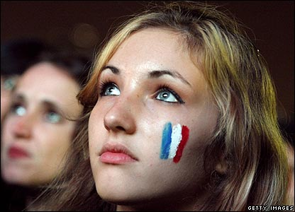 It's heartbreaking for the France fans, whose team battled until the last second of the match.