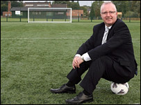 Head teacher John Cornally says the pitch is state-of-the-art