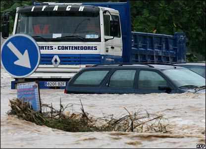 Flooding in Spain