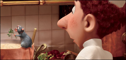 Scene from Ratatouille
