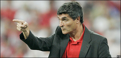 New Spurs manager Juande Ramos