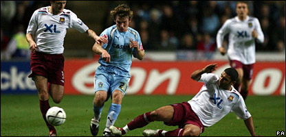West Ham vs Coventry