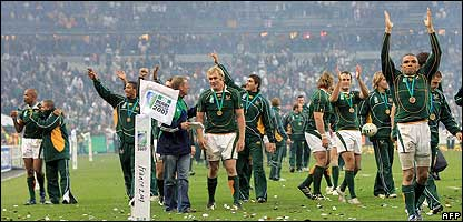 South Africa after the Rugby World Cup final