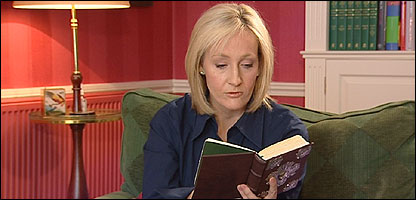 JK Rowling and her new book