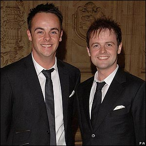 Ant and Dec won big - being named most popular presenters and seeing their shows Saturday Night Takeaway and I'm a Celeb...Get Me Out Of Here! scoop honours.