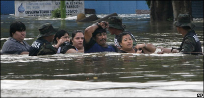 Mexico floods