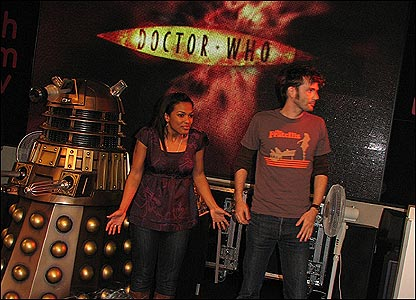 David Tennant and Freema Agyeman