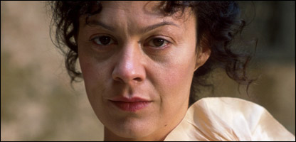 Helen McCrory as she appeared in a BBC drama