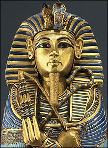 Miniature Tutankhamun coffin