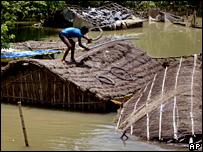 印度河水泛濫