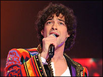 Lee Mead on stage