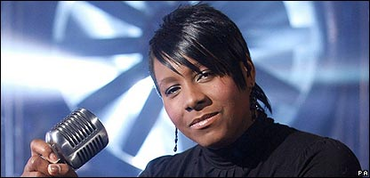 X Factor reject Beverley Trotman