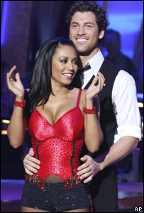 Mel B - Scary Spice - with partner Maksim Chmerkovskiy