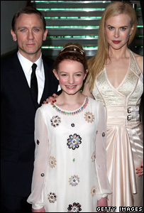 Daniel Craig, Dakota Blue Richards and Nicole Kidman