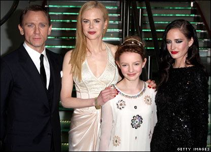 Daniel Craig, Nicole Kidman, Dakota Blue Richards and Eva Green