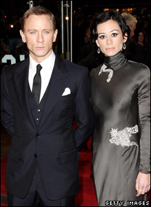 Daniel Craig and his girlfriend Satsuki Mitchell