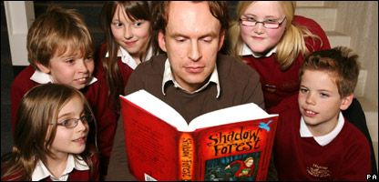 Author Matt Haig reads from his book
