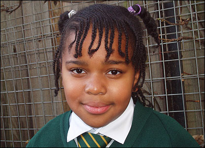 Nine-year-old Latifah also said she was really looking forward to seeing the final programme on television.