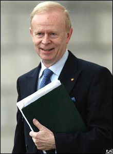 Ulster Unionist Party (UUP) leader: SIR REG EMPEY