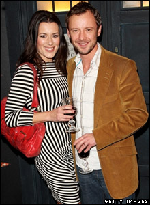 John Simm and Kate McGowan