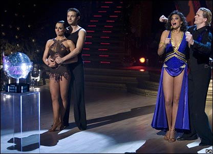 Matt Di Angelo, Flavia Cacace, Alesha Dixon and Matthew Cutler