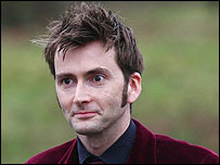 David Tennant at the wedding
