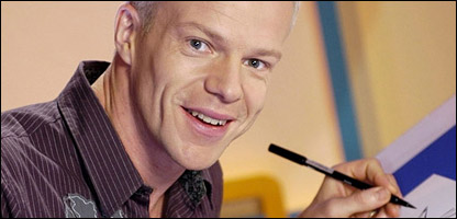 CBBC presenter Mark Speight