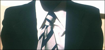 Wearing a school tie