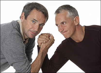 Alan Hansen and Gary Lineker