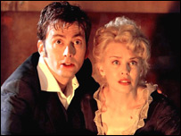 David Tennant and Kylie Minogue in the Doctor Who Christmas special