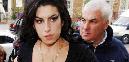 Amy Winehouse, last November