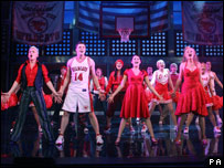 High School Musical on the stage