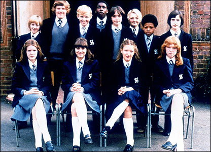 The first-ever cast of Grange Hill, all the way back in 1978.