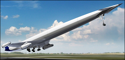 What the hypersonic jet could look like