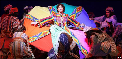 Lee Mead won Any Dream Will Do