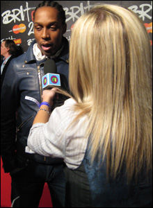 Helen with Lemar