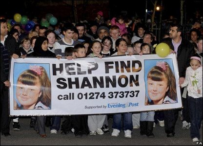 Shannon's friends and family